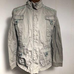 Womens Gray Jacket. Large